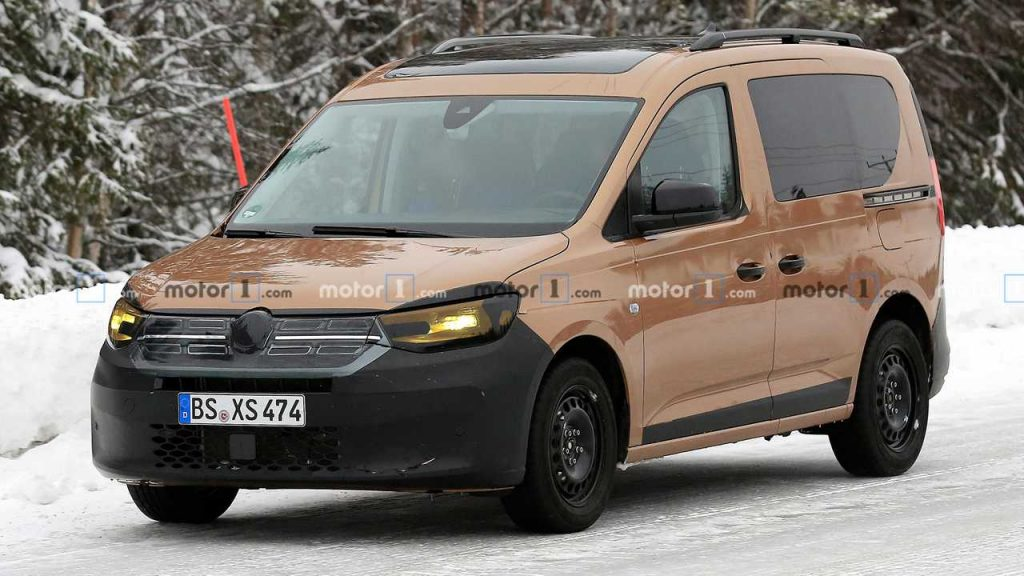 2020 VW Caddy Spied Trying Hard To Look Like A Dacia