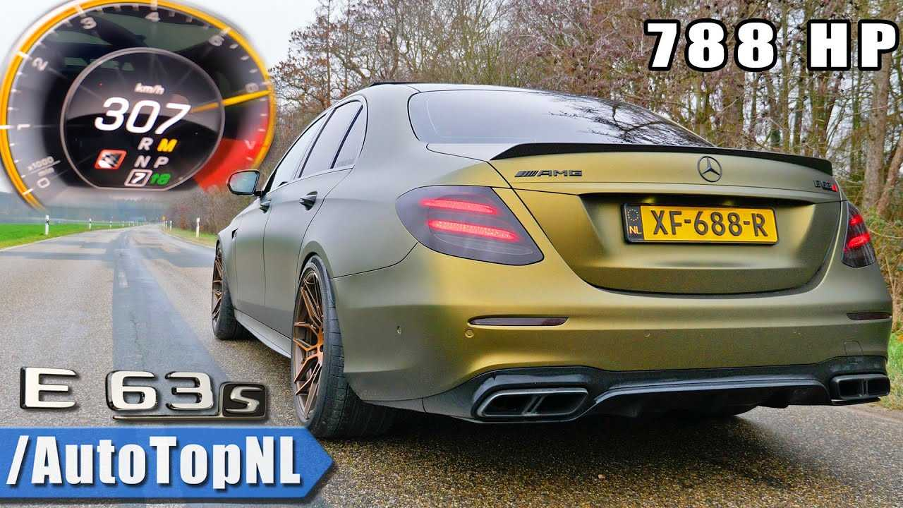 Mercedes-AMG E63 S With 788 HP Accelerates Like A Supercar