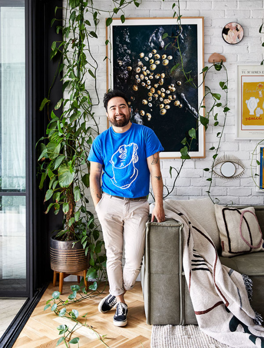 A Designer's 'Curated Maximalist' Apartment in Sydney