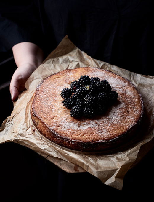Julia Busuttil Nishimura's Blackberry And Apple Cake