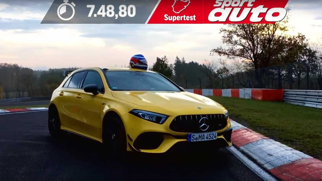 See The Mercedes-AMG A45 S Lap The Nürburgring In Just 7:48